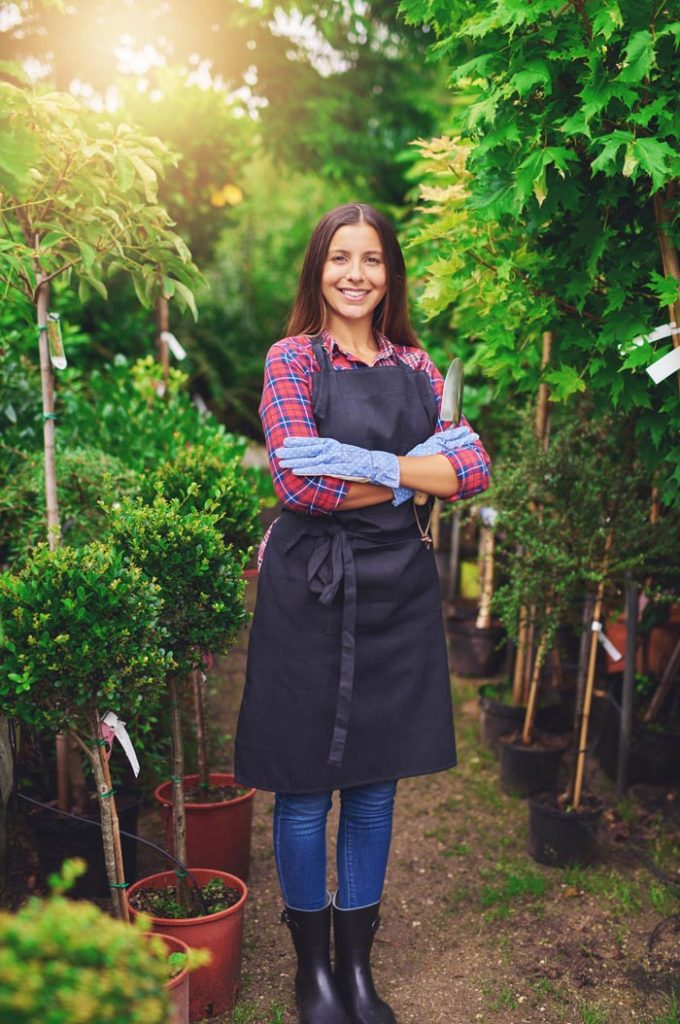 nursery garden owner
